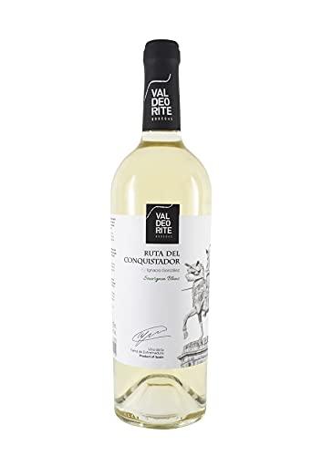 Bodegas López Morenas Rutas del Arte Conquistador Vino Blanco - 6 Paquetes de 750 ml - Total: 4500 ml