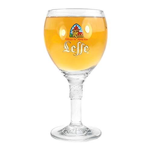 Leffe Blond - Bicchiere da birra, 50 cl, motivo: Belgio nucleato