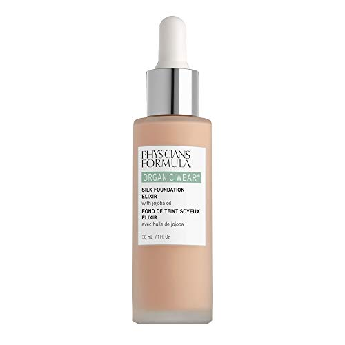 Physicians Formula Organic Wear Silk Foundation Elixir, 1 - Fair, 1 Fl Ounce