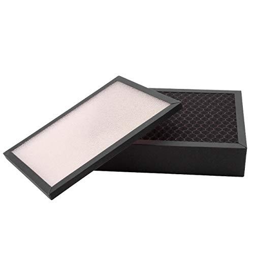 vhbw Filterset passend für Stadler Form Viktor Luftreiniger (Vorfilter + Aktivkohlefilter) - Ersatz für Stadler V-010 Filter Ersatzfilter Luftfilter