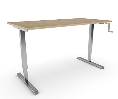 Actiforce Sit Supporto da scrivania, S210, Piano di Lavoro, Disponibile in 7Colori, Wild Pears, 140 x 80