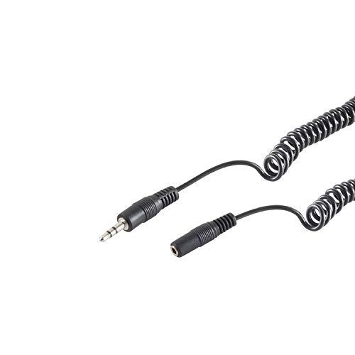 S/CONN maximum connectivity Klinkenst. 3,5mm / Klinkenbuchse 3,5mm, Spiral, 3m