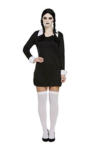 Kostüm wie Mittwoch Addams Familie Kostüm