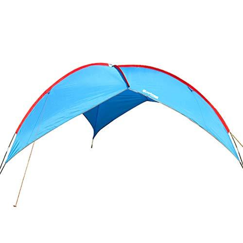 DGSFES Draagbare campingtent, zonnescherm en UV-bescherming familiekoepel, 200 cm hoogte actieve schuilplaats, geschikt voor outdoor picknick festival wandelen, inclusief draagtas