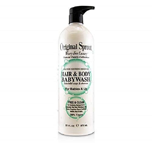 Product Image of the Original Sprout Hair & Body Babywash 33oz
