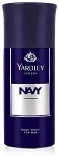 Yardley Navy Body Spray 150ml