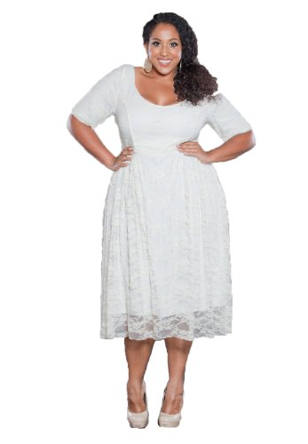 Sealed With A Kiss Designs Plus Size Kara Lace Dress Vintage