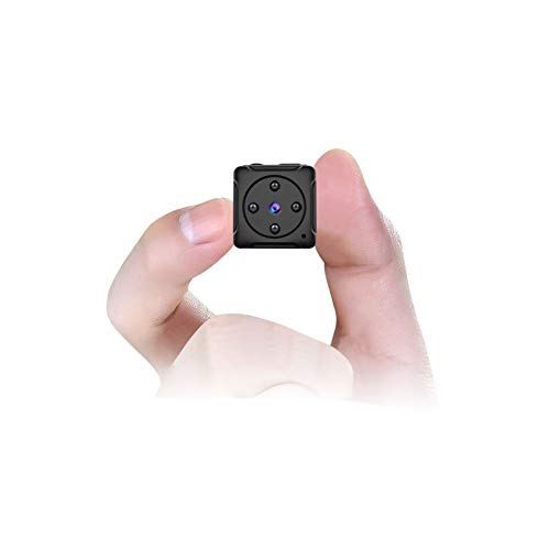 Mini Kamera,MHDYT HD 1080P Super Kleine Nanny Cam, Tragbare Mikro Überwachungskamera mit Bewegungsmelder und Infrarot Nachtsicht, Compact Akku Kameras für Innen und Aussen