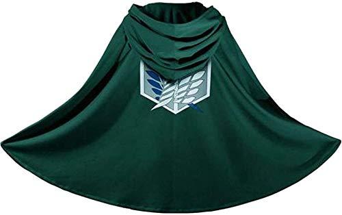 Generic Japan Anime Shingeki No Kyojin Cloak Attack on Titan Cosplay Cloth Green