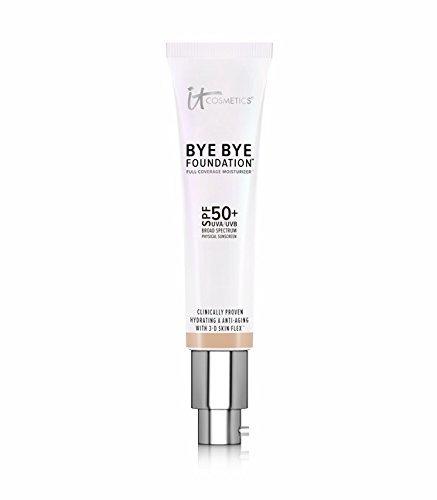 It Cosmetics Bye Bye Foundation Full Coverage Moisturizer with SPF 50+ ~ Fair 1 Fl Oz