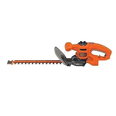 BLACK+DECKER Hedge Trimmer, Dual-Action Blade, 16-Inch (BEHTS125)