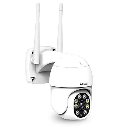 Modelo SP028 Cámara motorizada WiFi AP Hotspot inalámbrica infrarrojos 2.0 MP HD IR CUT ONVIF P2P SD Audio 4 LED luminosos