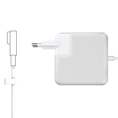 MacBook Pro Ladekabel Netzteil 60W MagSafe 1 L-Stecker Mac Book Pro Ladegerät Kompatibel mit Apple 13 Zoll MacBook Pro[2008 2009 2010 2011à Mi-2012] Mitte 2012 für Modell A1181 A1184 A1278 A1342 A1344