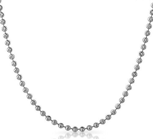Pori Jewelers 925 Sterling Silver Bead Necklace