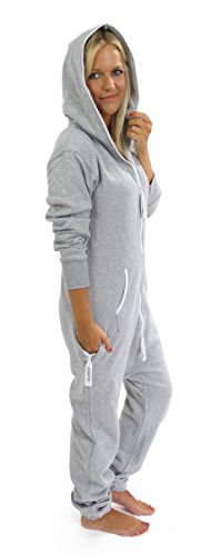 Moniz Damen Jumpsuit, grau - 6