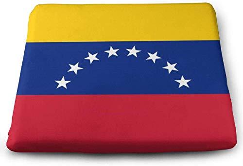 N/A Cojín de Espuma viscoelástica Grande para Silla de la Bandera de Venezuela, sillas de Cocina,