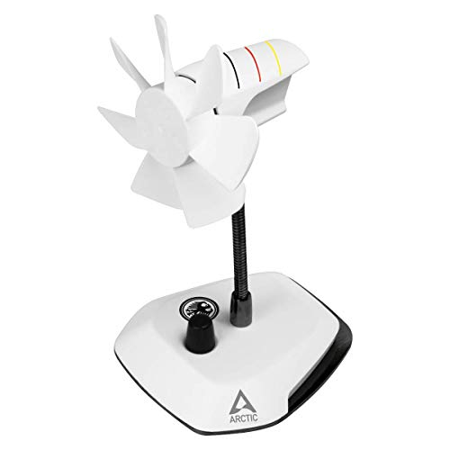 Arctic Breeze - USB Tischventilator mit flexiblem Hals und einstellbarer Drehzahl - 800-1.800 U/min - Deutschland