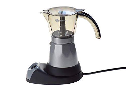 BEUFIRST Cafetera Italiana eléctrica, 480 W Potencia, con Capacidad para 6 Tazas....
