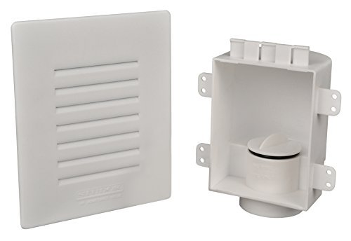 Studor 20380 Low-Profile Recess Box with Grille by Studor