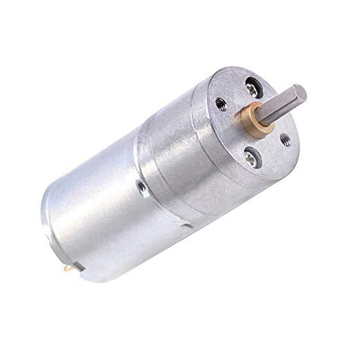 Wusfeng LHongBin-Motor DC Motor de Engranaje eléctrico de torsión de 6V 12V,...
