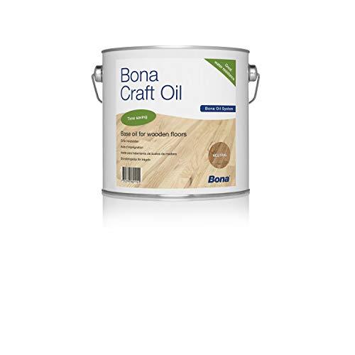Bona Craft Oil Light Grey 2,5litros, fußbodenöl, parkettöl, 1K Oil