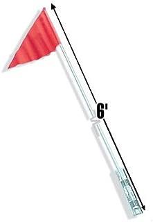 Safety Vehicle Safety Flag 6' 2 Piece Orange