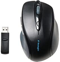 Kensington Computer Profit Wireless Full Sized Mouse Soft Rubber Grip Minimal Interference