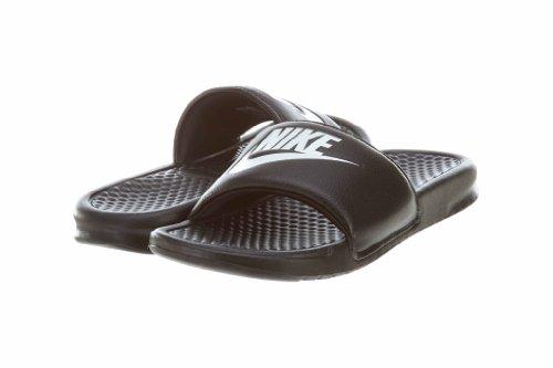 - Benassi Just Do It, Zapatos de playa y piscina Hombre, Negro (Black/White 090), 41 EU