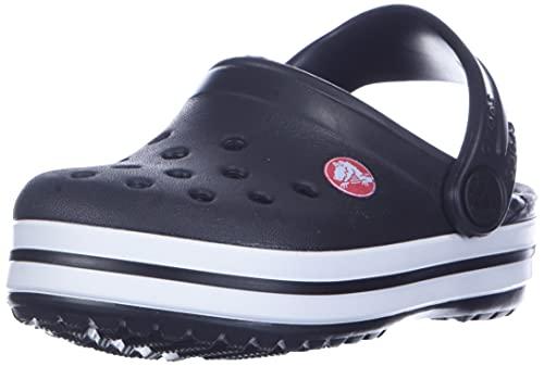 Crocs Crocband Clog Kids, Zoccoli Unisex-Bambini, Nero (Black 001), 23/24 EU