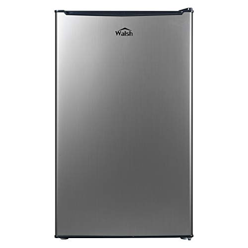Walsh WSR35S1 Compact Refrigerator, Single Door Fridge, Adjustable Mechanical Thermostat with...
