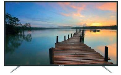 Arielli TV LED 50' 4K 50DN4A6 Smart TV Italia Black