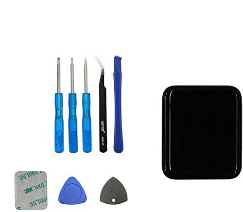 Upplus Pantalla LCD de repuesto compatible con Smart Watch Series 2 (2ª generación), pantalla táctil LCD de 38 mm con kit de herramientas.