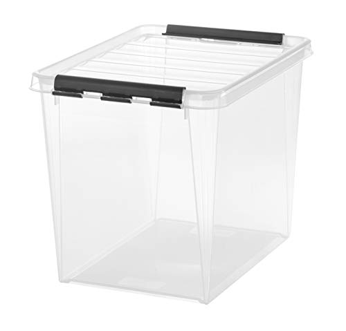 Orthex 3493070 Clipbox Smart Store Classic 16 / 25 L Volumen, transparent