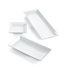 The Cellar Whiteware Nested Serving Trays, Set of 2, Created for Macy's - Serveware - Dining & Entertaining - Macy's Bridal and Wedding Registry