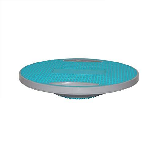 Duan hai rong DHR - Planches d'équilibre Balance Board Round Non-dérapante Gym Équipement d'exercice Hommes et Femmes Fitness Plate Stable Balance Bleu