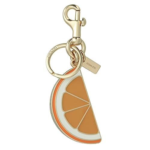 [コーチ] キーホルダー オレンジ スライス チャーム キーフォブ COACH Orange Slice Charm Key Fob 1631 IMORG [並行輸入品]