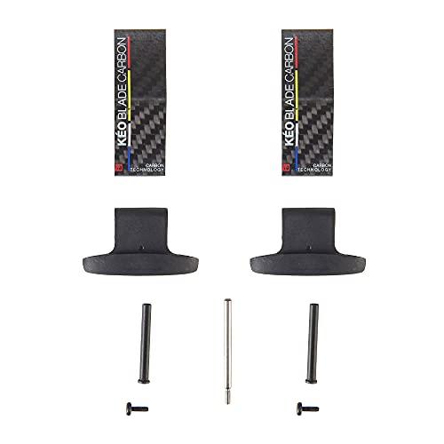 LOOK Cycle - Kit Lamine, KEO Blade Carbon - Kit di Lamine per Pedali KEO Blade in Carbonio, Ceramica e Titanio - Lama di Ricambio e/o Correzione della Tensione - Tensione 12