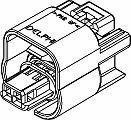 Automotive Connectors 2P FM BLK SEAL limited product CONN 10 Max 82% OFF ASSY 150 15 AMPS SERIES