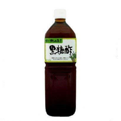 黒糖酢 ペットボトル 1L すぐ飲めるタイプ×12本 北琉興産 黒糖 シークワーサー オリゴ糖 食物繊維含有 ミネラルたっぷりの黒糖酢飲料 沖縄土産にもぴったりの一品