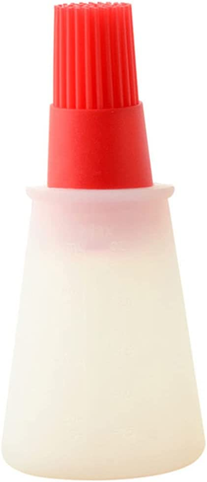 High Directly managed store Temperature Resistant Silicone Brush Bottle Limited time for free shipping Barbecue