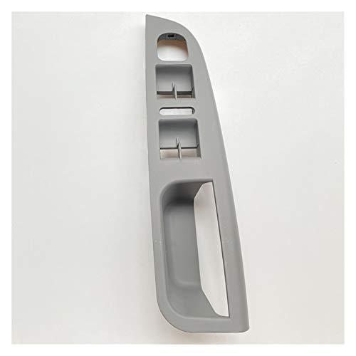 GAOHEREN Interruptor de ventana del controlador del conductor negro del interruptor de la ventana del interruptor de la manija de la puerta de la base del soporte para 1k4 867 049 C VW GOLF JETTA MK5
