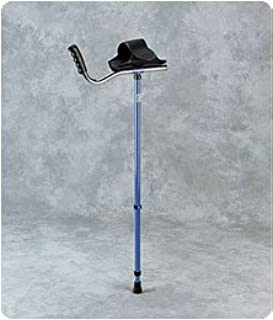 Walk Easy Adult Platform Crutch Black - Model 55256202