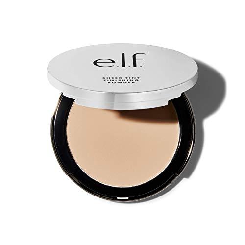 e.l.f, Beautifully Bare Sheer Tint Finishing Powder, Mattifying, Silky, Light Coverage, Long Lasting, Controls Shine, Creates a Flawless Face, Fair/Light, All-Day Wear, 0.33 Oz