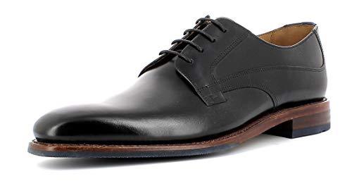 Gordon & Bros Herren Businessschuh, Milan 5928-I Männer Halbschuh,Schnürschuh,Derby Schnürung,Anzugschuh,Black,43 EU / 9 UK