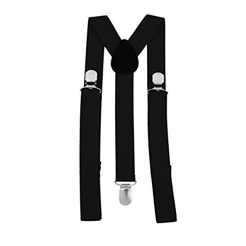 Zinniaya Unisex Mujer Hombre Y Forma Elástico Clip-on Tirantes Correa Pantalones Tirantes Ajustable Tirantes Adultos 3 Clip Suspender Correa Correa