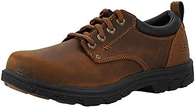Skechers Men's Segment Rilar, Dark Brown, 8.5 D - Medium