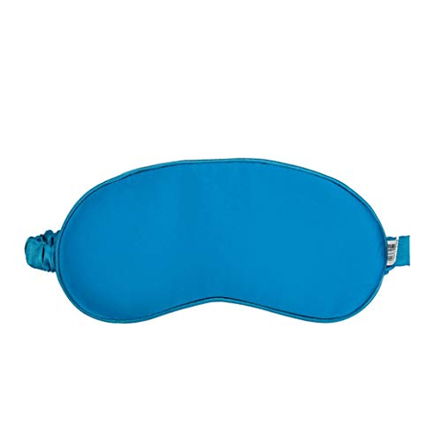 HaiShan LCZYZ Slaap Masker Slapende Goggles Zijde Slaap Ademende Shading Mannen En Vrouwen Hot Eye Masker Pauw Blauw