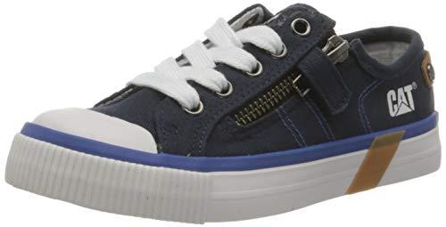 Cat Footwear Unisex-Kinder Carl Sneaker, Navy, 38 EU