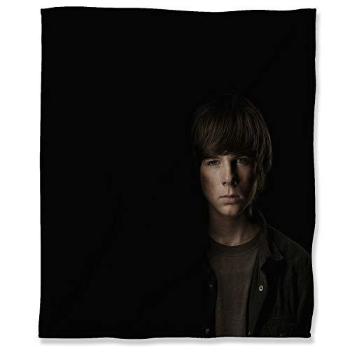 Manta de franela ultra suave, 130 x 153 cm, para adultos, niños o mascotas, diseño de The Walking Dead