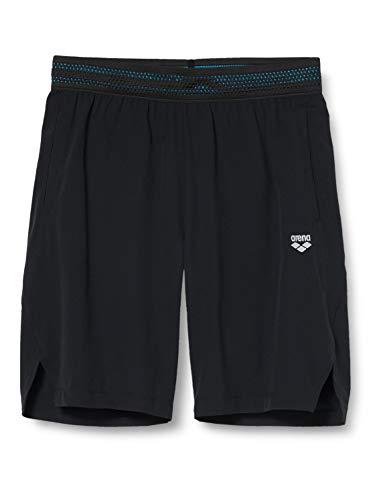 ARENA Herren Sport Bermuda Side Vents Corto, Hombre, Color Negro, Extra-Large